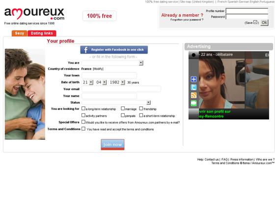 amoureux site de rencontre site de rencontre français gratuit