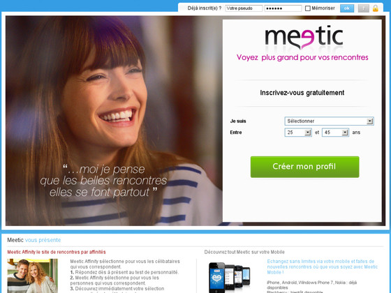 Blog site de rencontre meetic