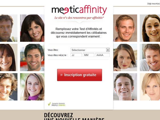 Site rencontre par affinite